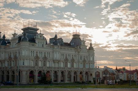 Luxury residential building in the center of Kazan