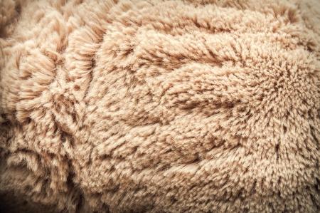人工毛皮の模様 写真素材