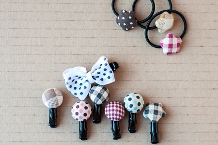 Baby hair clips photo