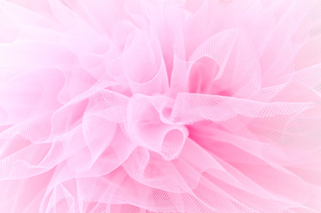 Beautiful layers of delicate pink fabric Stockfoto