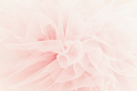 Beautiful layers of delicate pink fabric Stock Photo