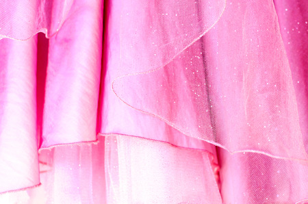 Background from skirts with frills Standard-Bild