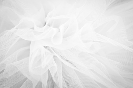 Beautiful delicate background mesh fluffy fabric Black and white Stock Photo - 41375714