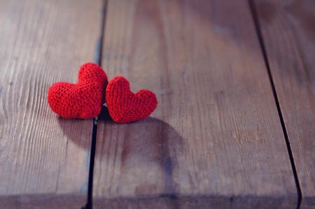 te quiero: Rojo corazón, día de San Valentín postal, Te quiero, Foto de archivo