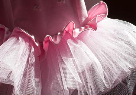 skirts: Background from pink skirts tutu Stock Photo