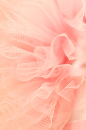 frill: Blur background from delicate fabric
