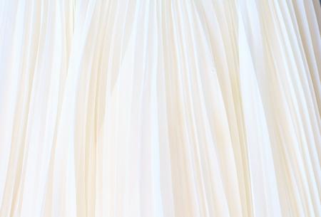 Background of white fabric