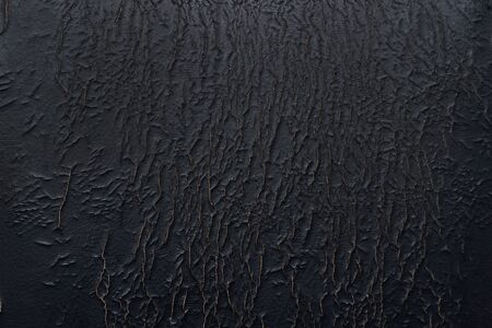 Back  texture of the old cracked imitation leather, dermantina, upholstery of the old chair Stock Photo