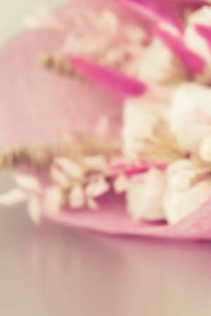 Blurred floral pink vertical background