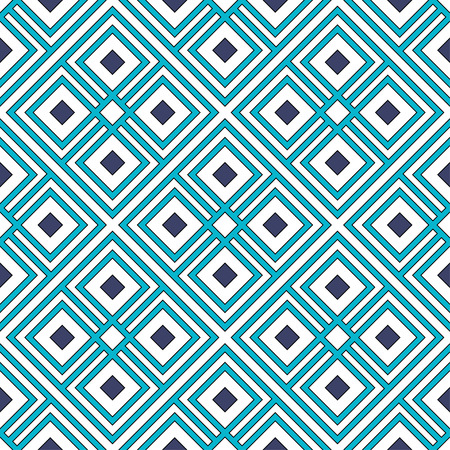 Vector seamless pattern with tribal elements.