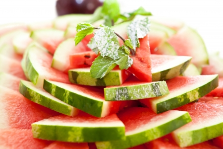 ranging: Watermelons ranging Stock Photo