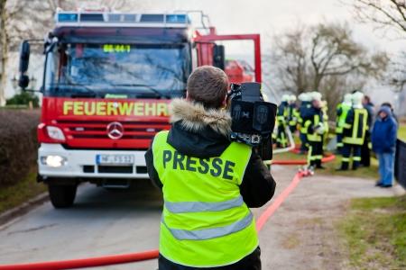 Cameramen PRESSE  german