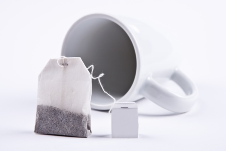 Teabag with cup