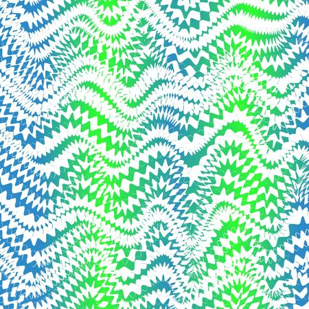 Abstract opt art with a frenzied gradient wave pattern.