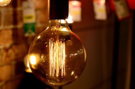 edison: edison lamp Stock Photo