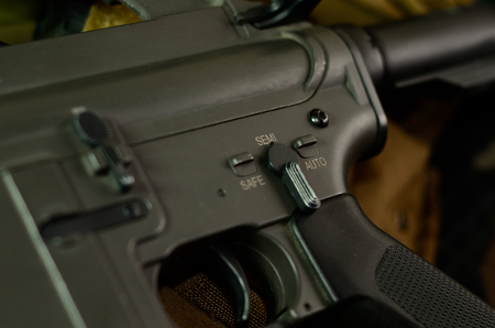 M16 Machine gun Fire Selector Switch.