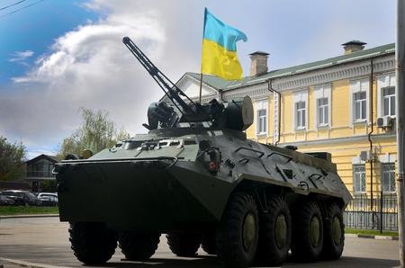 Vehículo de combate de infantería ucraniana