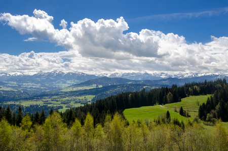 Foothills of the Alps