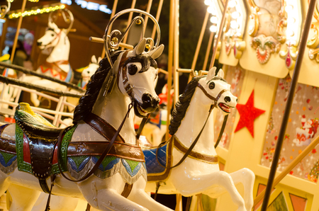 Carousel from the Christmas market