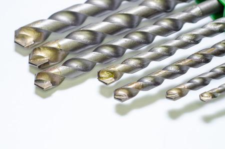 Set drill bits. 免版税图像