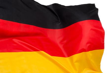 Vlag van Duitsland Stockfoto