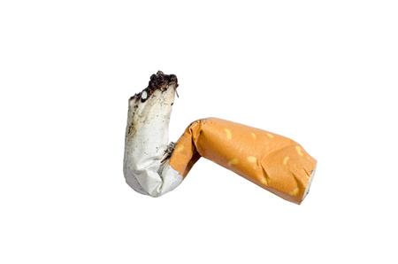 Macro Cigarette butt Stock Photo - 94579861