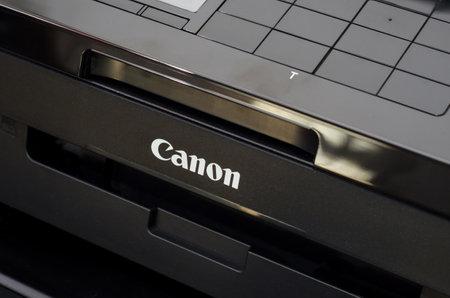 Soest, Germany - January 1, 2018: Canon PIXMA MX925
