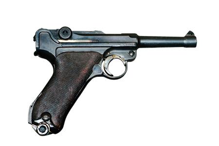 Luger pistol (Parabellum P 08) Pistol Parabellum Model 1908 Banco de Imagens