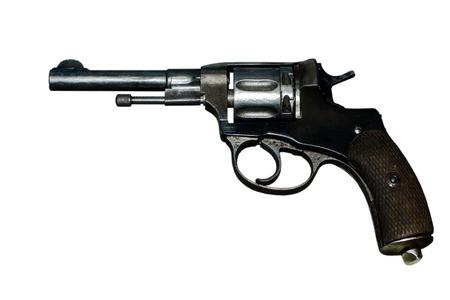 The Nagant M1895 Revolver Stock Photo