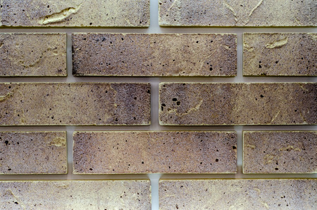 Close-up of brick tiling wall 免版税图像