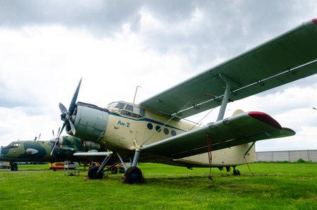 Kyiv, Ukraine - May 11, 2019: The Antonov An-2 (NATO reporting name Colt)