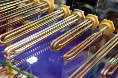 Copper Tubular Heating Element for Electric Water Heater, Electric Water Boiler Zdjęcie Seryjne