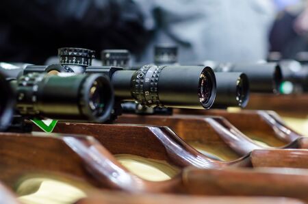 Telescopic sight for sale in the store.
