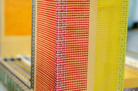 PVC Angle Profile Corner with Fiberglass Mesh