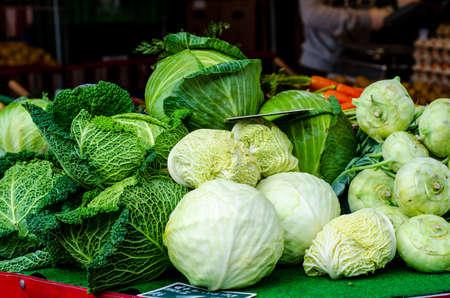 Vegetables for sale in the market Stock fotó