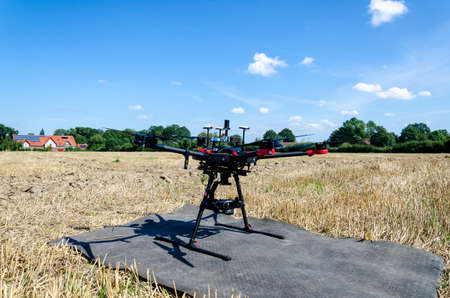 Agricultural drone for the agricultural sector.