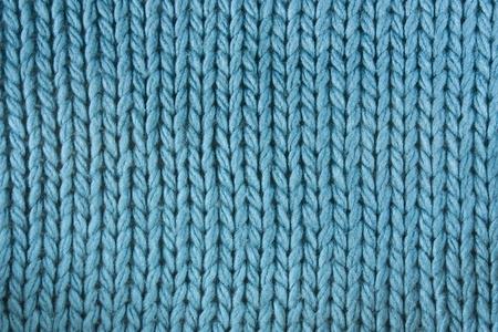 Close-up of a woolen pattern. Knitting pattern  photo