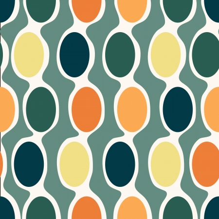 bold: Seamless retro geometric pattern