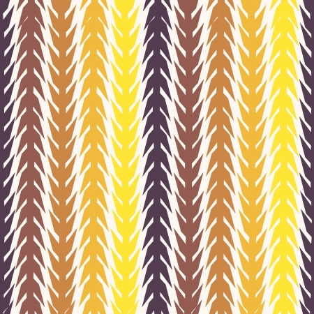 spikes: Seamless retro geometric pattern