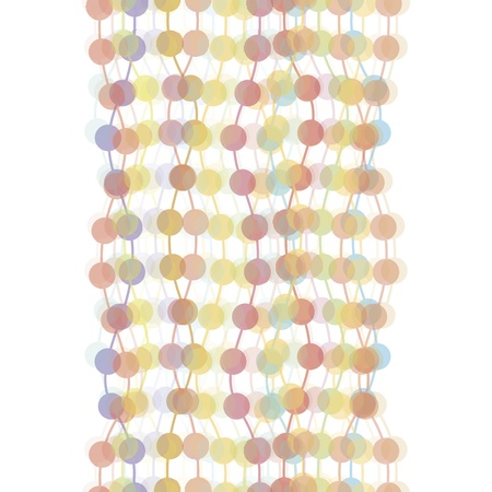 EPS10 vector file  Colorful transparent dots seamless background pattern Vector