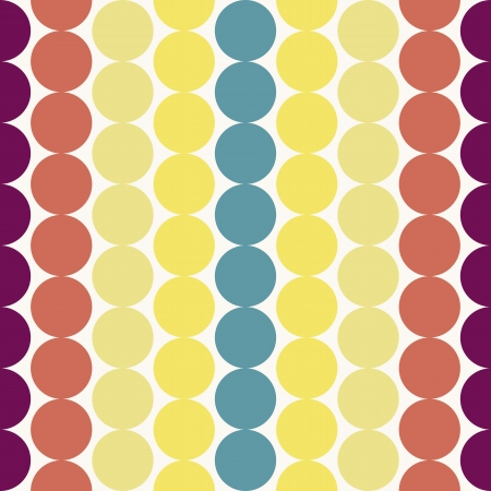 Seamless retro geometric pattern Stock Vector - 17310053