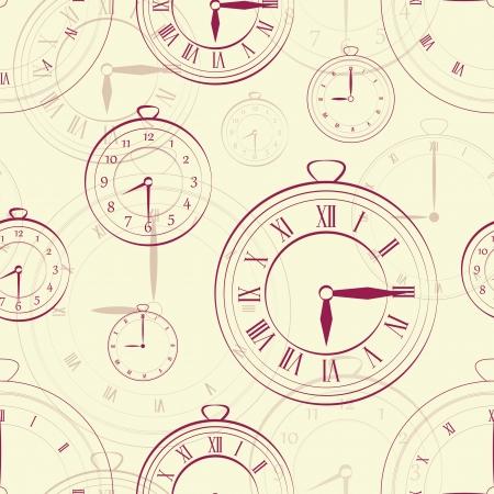 reloj de pared: Ver vendimia incons�til en negro bakground