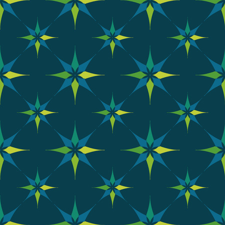 decor graphic: EPS10 file. Seamless floral geometric pattern. Illustration