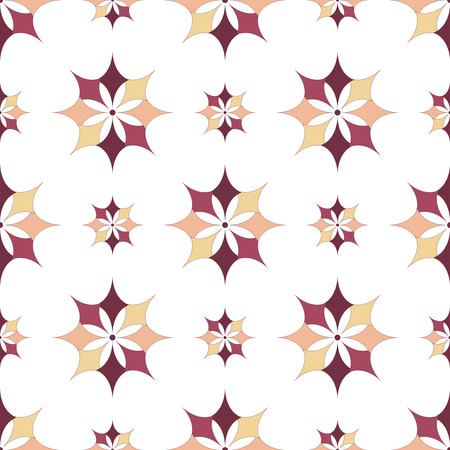 decor graphic: EPS10 file. Seamless floral geometric pattern. Vintage background. Illustration