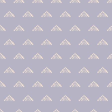 Vector mauve geometric chevron seamless pattern background