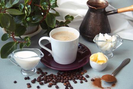 bulletproof coffee recipe keto. it works ketogenic diet.