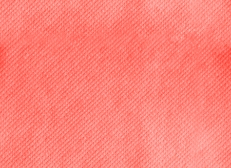 Paper napkin embossing seamless texture. Living coral color background. Color of the year 2019. Main trend concept.
