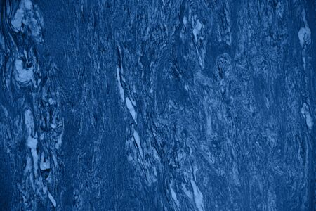 Color of the year 2020. Ideal marble texture. Trendy fresh abstract stone background. Color trend text