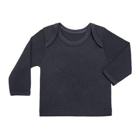 dark gray, black sweatshirt unisex. Long sleeve, round neck. Mock up.