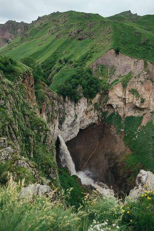 Caucasus mountains Gil-Su Kabardino-Balkaria, Elbrus national park, North Caucasus, Russia. 版權商用圖片